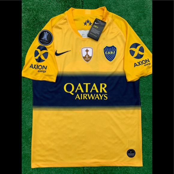 super popular 0cb6a 5aa89 2019/20 Boca Juniors away soccer jersey Nike Tevez NWT